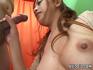 Beautiful Asian babe group sex!