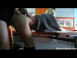 Oops excl boss interrupts secretary fucking