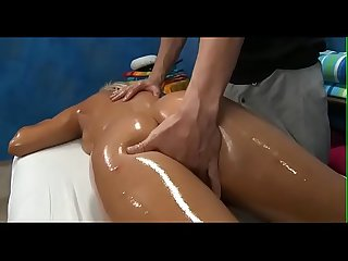 Sexy honey plays with cock then gets nailed hard