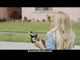 ExxxtraSmall - Cute Blonde Caught Spying