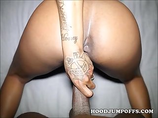 EXPLOITED BLACK TEEN STRIPS AND GETS FUCKED IN AMATEUR VIDEO
