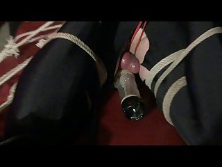 Akina bondage pump tease escargot
