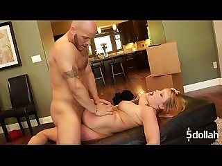Maya hills takes cock in all her holes