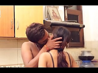 Horny Desi indian couple kissing before sex desixporn period com