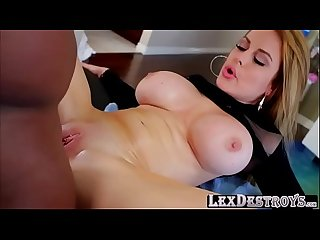 Glamorous and lustful anissa kate gets a free massage and fucks lex