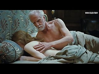 Emily browning teen girl sex with old man full Frontal nudity bush Sleeping beauty 2011