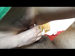 Closeup vaginal sex