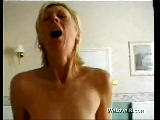 Big tit milf takes care of bbc