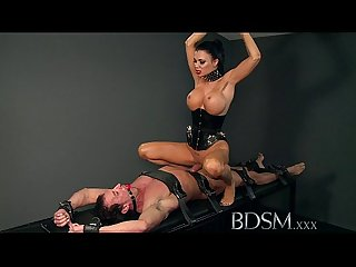 Bdsm Xxx slave boy gets hardcore treatment by dom whilst bound and gaged