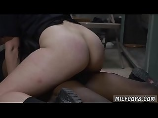 Blonde Milf big black cock and horny hairy anal Xxx domestic