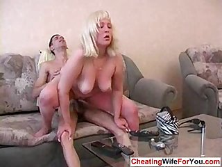 Long nails chubby milf fucking