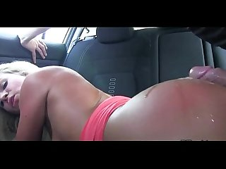 Fucking my ex's mother in her car