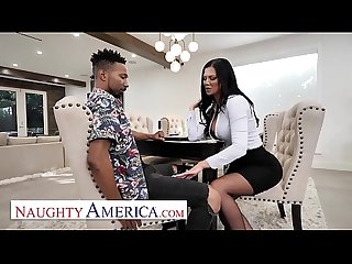 Naughty America - Jasmine Jae helps herself to a Big Black Cock!