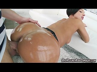 Huge assed slut gets fuck