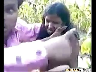 Cute Indian Slut Getting Fucked Outdoors