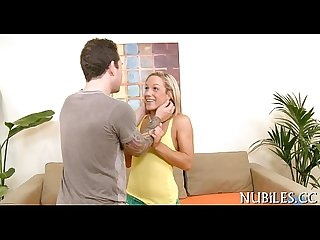 Sweetheart is nailed by stud
