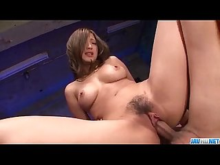 Japanese milf Aika enudres younger cocks