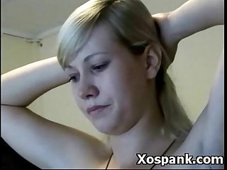 Cruel spanking milf domination