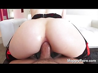 Hot hairy anal slut Alex Harper