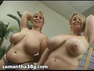 Ctexsins chelle 34ff and samantha 38g