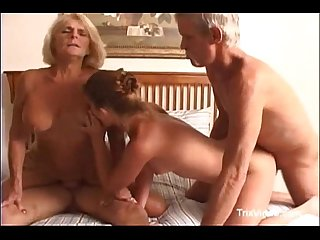 Georgette parks blows and gets gangbanged