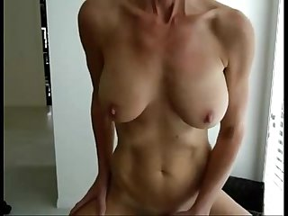 This swedish milf has amazing tits more tcamgirls com