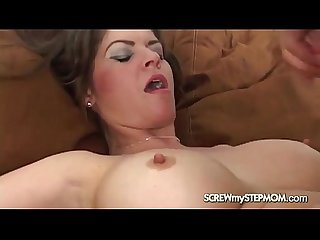 Sexy stepmom fucked by her son