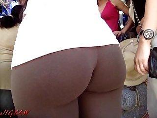 Candid booty culo bunda rabuda suplex legg spandex lycra voyeur pawg sample01