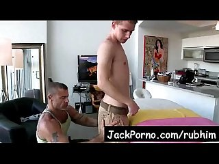 Gay massage with happy ending rub him Video4