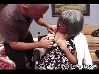 Busty Granny Needs Sex