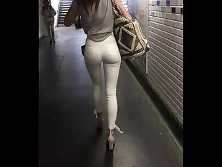 Sexy Girl Walking