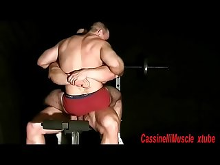Giant Bodybuilder Max WORSHIP & SEX