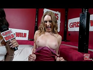 GIRLS GONE WILD - Male Strippers Make Teen PAWG Daisy Stone Horny