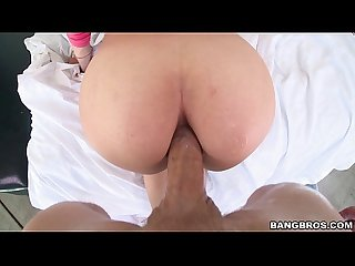 POV Fucking Aidra Fox in the Ass