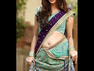 Sexy Saree navel tribute