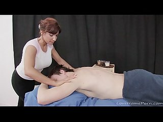 His amazing massage ended with a happy ending