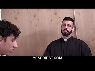Gay priest porn hung church boy gets fucked hard doggystyle-YESPRIEST.COM