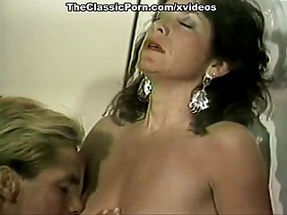 Gina Carrera, Stacey Wells, Gary West in classic xxx scene