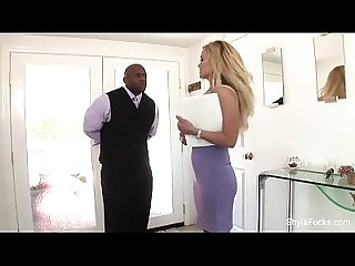 Interracial DP for Shyla Stylez