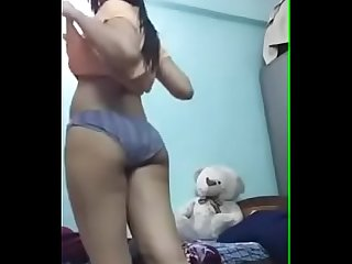 indian teen undressing for her bf